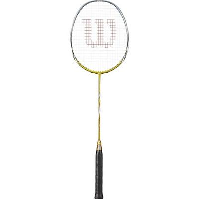 ウイルソン(Wilson) FIERCE CX5000 BMTN FRM SC 2 ゴールド WRT8494202 【バドミントンラケット ラケット バドミントン用品 ウィルソン】の画像