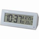 【クリックで詳細表示】壁掛け時計 モダン デザイン CITIZEN シチズン シチズン電波目覚まし時計「パルデジットピュアR153」8RZ153-004 8RZ153-004 【直送品の為、代引き不可】