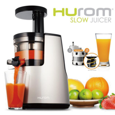 Qoo10 - Lowest Price in Singapore HUROM HH-SBF11 Slow Squeezing Juicer Extrac... : Kitchen & Dining