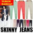TURUN HARGA!! Women Skinny Pants / 10 Colors / Long Pants / Jeans / Celana Panjang Wanita