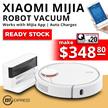 [Ready Stock] Xiaomi Mi Robot Vacuum | App Control | Intelligent Mapping |