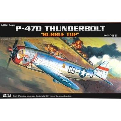 【クリックで詳細表示】[Academy] アカデミー プラモデル 12491 1/72 P-47D THUNDERBOLT BUBBLE-TOP / 送料無料