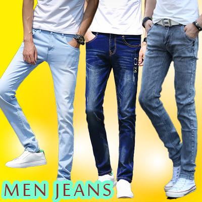 メンズジーンズ スキニージーンズ ロングパンツ スリム 修身 良い弾力性 カジュアルなズボン   ファッション