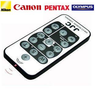 【送料無料】Canon RC-1,RC-5,WL-DC100 Nikon ML-L3 PENTAX E,F RM-1,RM-2 KONICA MINOLTA RC-3 リモコン 互換リモートコントローラー無線リモートシャッター JJC/RM-E5の画像
