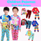 ★Mamas Luv★11/10 updated★Kid pajamas for boys and girls/sweet and cute design
