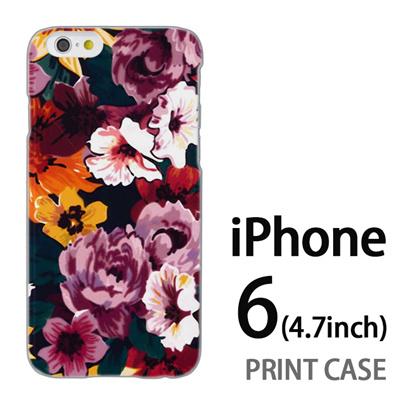 iPhone6 (4.7インチ) 用『1000 花蓮』特殊印刷ケース【 iphone6 iphone アイフォン アイフォン6 au docomo softbank Apple ケース プリント カバー スマホケース スマホカバー 】の画像