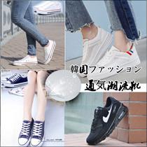 韓版ランニング運動靴【NEW ペアルックスニーカー 】韓国ファッション カップルスニーカー スニーカー シューズランニングレディース カジュ