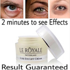 RESULT GUARANTEE/MUST HAVE/LE ROYALE LUXE EYE CREAM/MAGIC CREAM/TOP SELL AT SWITZERLAND/MUST HAVE NO NEEDLE NO PAIN NO DOCTOR GOOD FOR WALLET