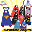 *CHEAPEST*Superhero costumes/raincoat/Avengers costumes/Captain America/Ironman/Superman/Baby Costumes/Frozen/Kids costumes/Children costumes/Halloween/Xmas gifts/xmas party/Kids party