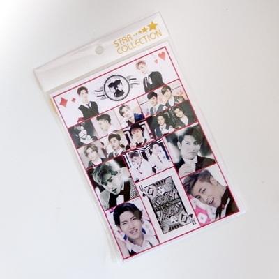 TVXQ 東方神起 2014 ミニ シール / チャンミン MAX ユンホ ユノ U-KNOW tvxq kpop a5サイズの画像