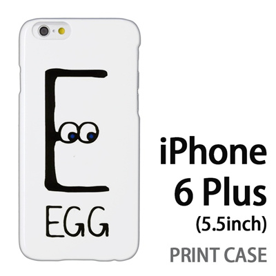 iPhone6 Plus (5.5インチ) 用『0623 「E」』特殊印刷ケース【 iphone6 plus iphone アイフォン アイフォン6 プラス au docomo softbank Apple ケース プリント カバー スマホケース スマホカバー 】の画像