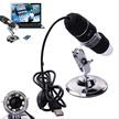 2Mp 1000X 8 Led Usb Digital Microscope Endoscope Zoom Camera Magnifier& Stand