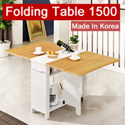 [38%OFF][BLMG_SG]Folding Table 1000/1500★Furniture★Home★Stable★Modern★Kitchen★DIY★Singapore★Fast★Che
