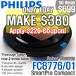[MAKE $380!!] PHILIPS SmartPro Compact Robot vacuum cleaner FC8776/01
