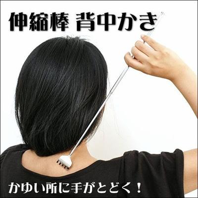【メール便送料無料】伸縮棒背中かきの画像