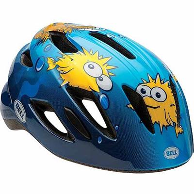 ベル(BELL) ヘルメット ZIPPER / ジッパー KIDS&YOUTH ブルーパファー UC/47-54cm 【自転車 サイクル キッズ 安全 子供】の画像