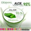 Dermal Soothing  Moisturising Aloe Vera Gel 95% 300ml (For Skin Soothing Skin Healing Skin Recovery + Skin Moisturising ( Made In Korea )