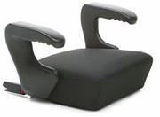 [CLEK] OZ11U1-LC - Ozzi Backless Booster Seat, Licorice