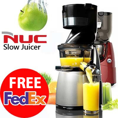 Best Slow Juice Extractor : Qoo10 - [ BEST PRICE! ] NUC Whole Slow Juicer Extractor Mixer cuttless 220v-24... : Home Electronics