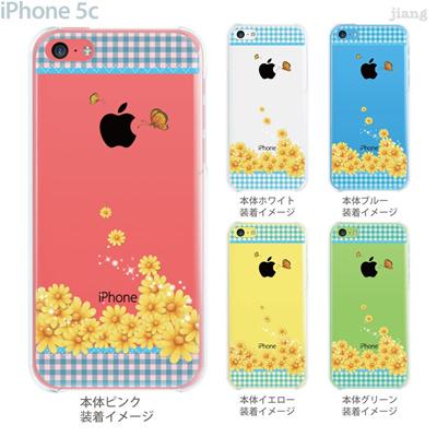【iPhone5c】【iPhone5cケース】【iPhone5cカバー】【iPhone ケース】【クリア カバー】【スマホケース】【クリアケース】【フラワー】【Vuodenaika】 21-ip5c-ne0057の画像