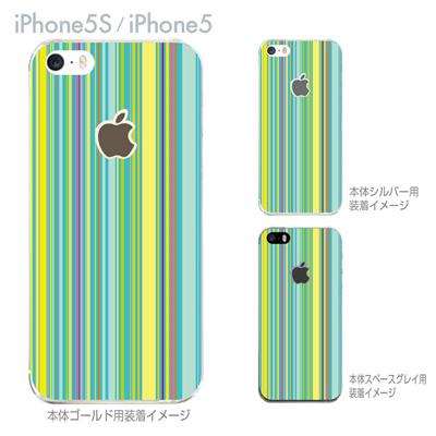 【iPhone5S】【iPhone5】【iPhone5sケース】【iPhone5ケース】【カバー】【スマホケース】【クリアケース】【チェック・ボーダー・ドット】【カラーライン】 06-ip5s-ca0086の画像