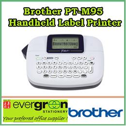 Brother PT-M95 Handheld Label Printer BH # BRPTM95 MFR # PT-M95