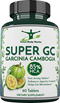 [TOTAL BODY HERBS] Super Garcinia Cambogia Extract with 85% HCA: For Appetite Suppressant and Weight