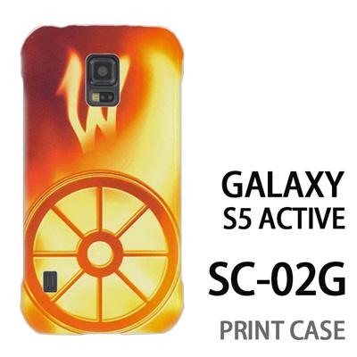 GALAXY S5 Active SC-02G 用『No1 W 光り輝くタイヤ』特殊印刷ケース【 galaxy s5 active SC-02G sc02g SC02G galaxys5 ギャラクシー ギャラクシーs5 アクティブ docomo ケース プリント カバー スマホケース スマホカバー】の画像
