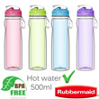 Rubbermaid 500ml Double Wall Chug Bottle Available in Green/Pink/Purple/Blue Able to Store/Contain Hot Liquid BPA-Free Leak-resistant Finger-loop for Easy Carrying Freezer Safe Household Local Stocks