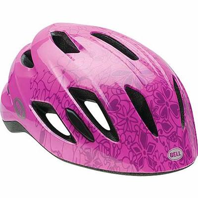 ベル(BELL) ヘルメット ZIPPER / ジッパー KIDS&YOUTH ピンクパラダイス UC/47-54cm 【自転車 サイクル キッズ 安全 子供】の画像