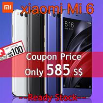 ★ Ready Stock ★ Xiaomi  Mi 6  | 6GB+64GB | 5.15 inches | Snapdragon835 | 3350mAh