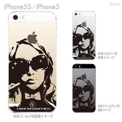 【iPhone5S】【iPhone5】【HAREM graphics】【iPhone5sケース】【カバー】【スマホケース】【クリアケース】 hgx-ip5s-011の画像
