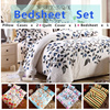 ☆Bedsheet Set☆pillow cases / quilt cover / bedsheet.More styles. Romantic home life. Best Price. 3 Size 1.2m /1.5m /1.8m