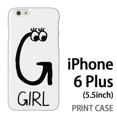 iPhone6 Plus (5.5インチ) 用『0623 「G」』特殊印刷ケース【 iphone6 plus iphone アイフォン アイフォン6 プラス au docomo softbank Apple ケース プリント カバー スマホケース スマホカバー 】の画像