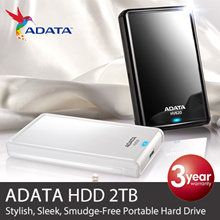 ADATA HV620/100/710/ANN13 [ 2TB ] HDD. Minimalism Balanced w Functionality.Subduing Fingerprints from handling. Super Speed USB 3.0/G Shock Sensor Protection.Local Ready Stocks. Free Delivery!