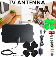 Flower Vision 120 Miles TV Antena Digital HDTV Indoor TV Antenna With Amplifier Signal Booster HDTV