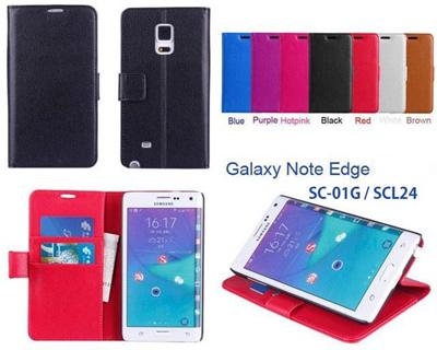GALAXY Note Edge ケース/note edge/sc-01g/SCL24 【iPhone/ GALAXY/Xperia】ビビッドカラー手帳型横開きタイプ クラシックダイアリー 【レビューを書いてメール便送料無料】の画像
