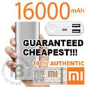 [VERIFIED 100% AUTHENTIC] Xiaomi Mi Power Bank 16000mAh 10400mAh 5000mAh PowerBank Portable Battery Charger iPhone Samsung Xiaomi Silicone Case