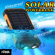CHOOSE FREE GIFT ☀ ZENOS Solar Powerbank Solar Power Charge / Electricity ☀ 30000 ☀ 36000 ☀ 38000mAh