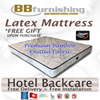 [BBFURNISHING] SLEEPY NIGHT HOTEL BACKCARE 8.5 INCH PREMIUM BAMBOO KNITTED FABRIC MATTRESS / BEDFRAME OPTIONAL /4 SIZES AVAILABLE/6 COLOURS AVAILABLE/FREE DELIVERY + INSTALLATION! NEXT DAY DELIVERY!