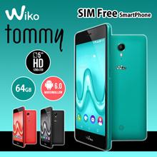 【予約販売】【2月25日発売】Wiko(ウイコウ)Tommy SIMフリースマートフォン 【全国一律送料無料】