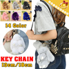 My Fashion Mate◆REX RABBIT PENDANT◆Key Chain/ Bag Holder/ Car Decoration/ Key Pendant/ Backpack Chain/ Fur Chain-14 colors/ 2 sizes