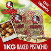 CNY Special 1 KG Baked Pistachio