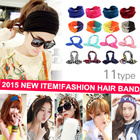 [FLAT PRICE][BUY 3 FREE SHIPPING] 2015 NEW ITEM! Fashion Hair Accessories/ Korean ~ Western Style Hairbands/ Headband / Elastic Hair ribbon/Hair Accessories / High Quality/CNY SALE!