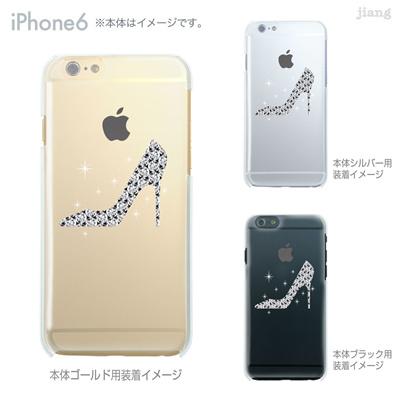 iPhone6 4.7 inch iphone ハードケース Clear Arts ケース カバー スマホケース クリアケース かわいい おしゃれ 着せ替え ハイヒール 10-ip6-ca0037の画像
