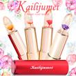 【国内配送】Kailijumei カイリジュメイ マジックカラー 唇の温度で色が変化 ドライフラワー 保湿用 4色 金粉入り