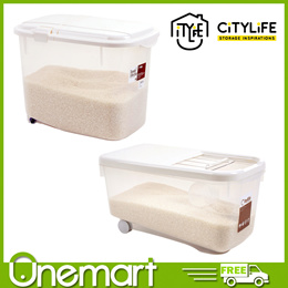 [CITYLIFE] 10L Rice Container ★ 10L Riice Container with Sliding Lid