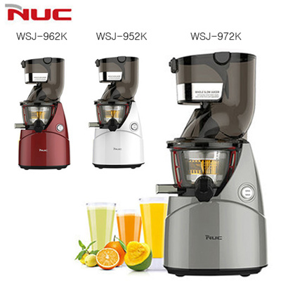 Buy [Super Sale] NUC(Kuvings) WSJ-962K Whole Slow Juicer 80mm Wide Inlet Extractor Fruit ...