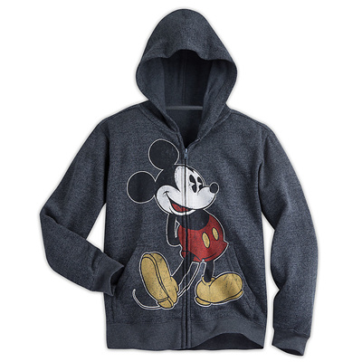 They'll be the fashionable first mate to ''Original Captain'' Mickey Mouse in our warm Disney Cruise Line hoodie.