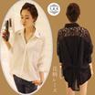 春先定番の刺繍長袖シャツ、素敵な長袖シャツ、2カラー、安心の国内発送、送料無料、